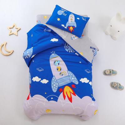 2021全棉无荧光幼儿园套件 2斤丝棉款六件套 星空火箭