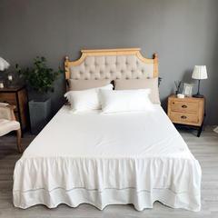 西西里绗缝系列单品(床裙) 120*200cm 西西里(白)