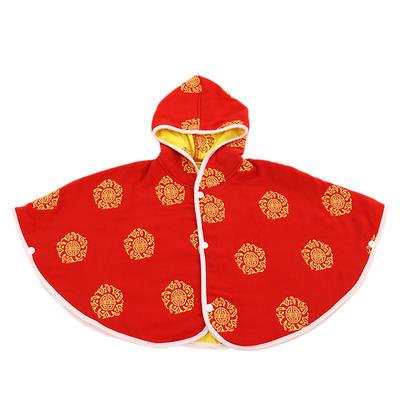 新款婴儿斗篷 摁扣设计 多款花色 欢迎下单定制