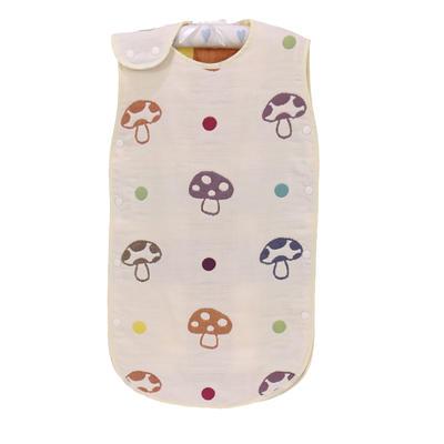 2017 新款儿童背心睡袋-蘑菇 蘑菇