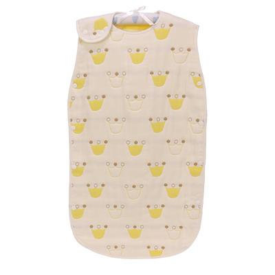 2017 新款儿童背心睡袋-黄皇冠 黄色-皇冠