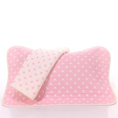 2017 新款儿童枕巾-粉色点 粉色点(35-55cm)