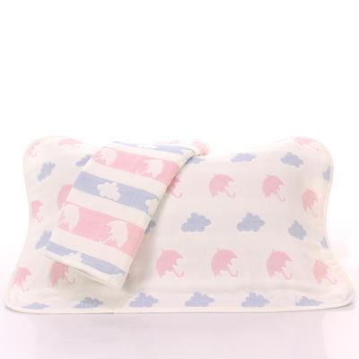 2017 新款儿童枕巾-雨伞云 雨伞云