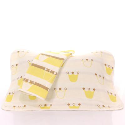 2017 新款儿童枕巾-黄皇冠 黄皇冠