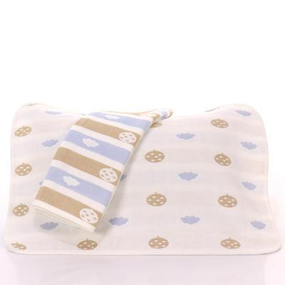 2017 新款儿童枕巾-南瓜云蓝 南瓜云蓝(35-55cm)