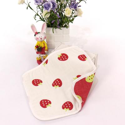 2017 新款儿童方巾-草莓 草莓(25cm)