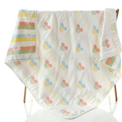 婴童用品 浅色米奇绿儿童毛巾被 浅色米奇绿儿童毛巾被(110*110)