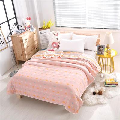 婴童用品六层毛巾被 粉彩云加厚六层毛巾被 粉彩云加厚六层毛巾被(150*200)