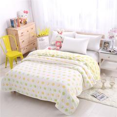 婴童用品六层毛巾被 青之檬加厚六层毛巾被 青之檬加厚六层毛巾被(150*200)