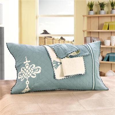 枕巾三层锁边枕巾 枕巾5 52*76 枕巾5