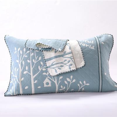 枕巾三层锁边枕巾 枕巾8 52*76 枕巾8
