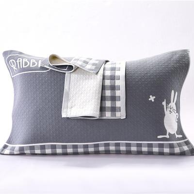 枕巾三层锁边枕巾 枕巾31 52*76 枕巾31