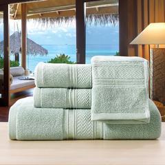 毛巾浴巾欧曼秘境-欧曼秘境-绿 40*80