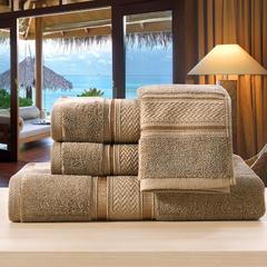 毛巾浴巾欧曼秘境-欧曼秘境-棕 40*80