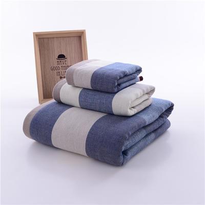 英伦大格毛巾浴巾-2 36*76