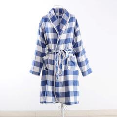 浴袍系列四层浴袍700克 兰格 衣长100cm 兰格