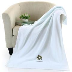 毛巾浴巾系列 陌上花开浴巾  蓝色 蓝色(70*140)