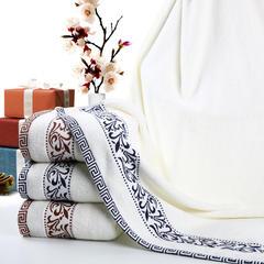 毛巾浴巾 青花瓷浴巾 咖色70*140cm 咖色