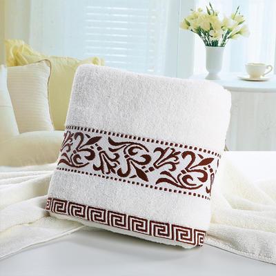 毛巾浴巾 青花瓷毛巾 咖色34*76cm 咖色