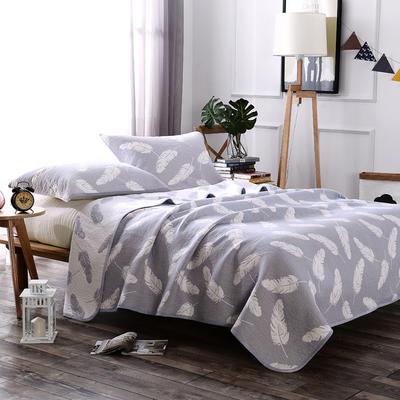 2018新款盖毯系列 包边系列盖毯(总) 200*230cm 轻羽(可加枕巾)灰