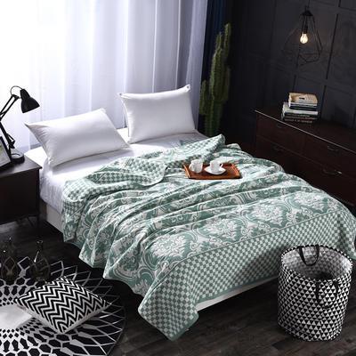 2018新款盖毯系列 定版系列盖毯 欧式风情 绿 150*200cm 绿