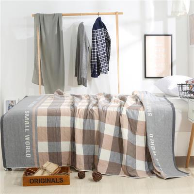 2018新款盖毯系列 定版系列盖毯 小世界(总) 150*200cm 灰