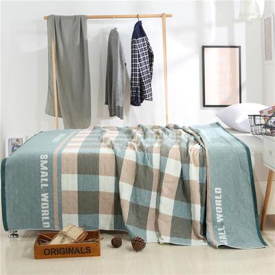 2018新款盖毯系列 定版系列盖毯 小世界(总) 150*200cm 绿