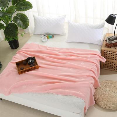 2018新款盖毯系列 蜂巢系列盖毯 爱的印记 桔色 150*200cm 桔色