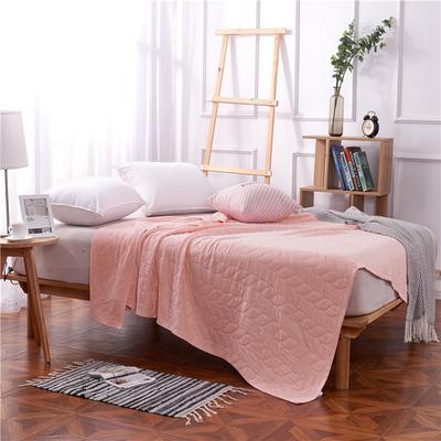 2018新款盖毯系列 天蚕丝纱布毯-树叶(总) 150*200 玉色