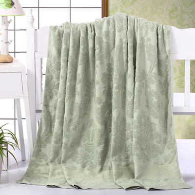 2018新款毛巾被系列 欧雅老式毛巾被 灰青 70*140 灰青
