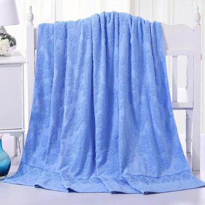 2018新款毛巾被系列 欧雅老式毛巾被 兰 70*140 兰