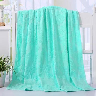 2018新款毛巾被系列 欧雅老式毛巾被 绿 150*200 绿