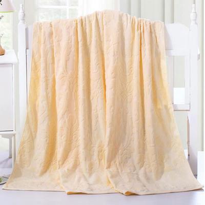 2018新款毛巾被系列 欧雅老式毛巾被 米白 70*140 米白