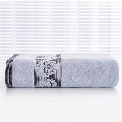 2018新款家用毛巾浴巾-欧尚 蓝色(毛巾)