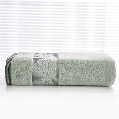 2018新款家用毛巾浴巾-欧尚 绿色(毛巾)