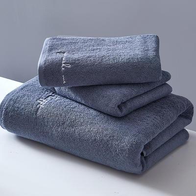 2018新款潮范儿系列-浴巾 灰70*140cm