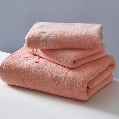 2018新款潮范儿系列-浴巾 桔70*140cm