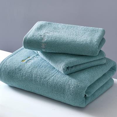 2018新款潮范儿系列-浴巾 绿70*140cm