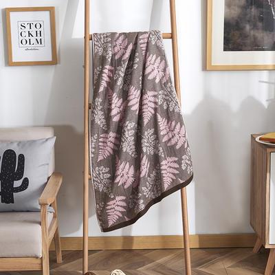 2019新款全棉浴巾-70*140cm 相思-粉
