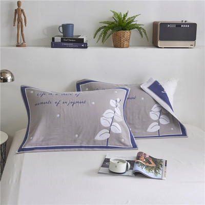 2019新款6层枕巾- 52*78cm 灰色