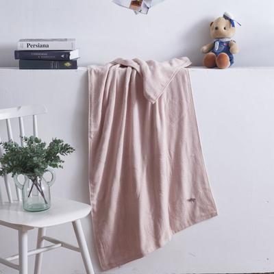 2019新款棒棒糖毛巾浴巾 浴巾粉色 70*140cm