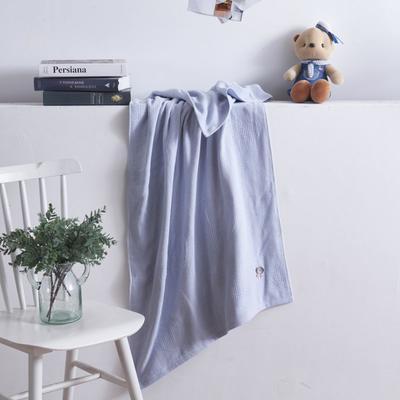 2019新款棒棒糖毛巾浴巾 浴巾蓝色70*140cm