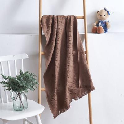 2019新款变形记毛巾浴巾 浴巾咖色70*140cm