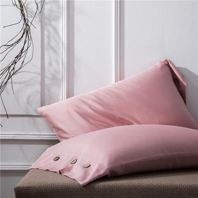 2019新品A类60S长绒棉全棉单品枕套 48cmX74cm/对 粉色