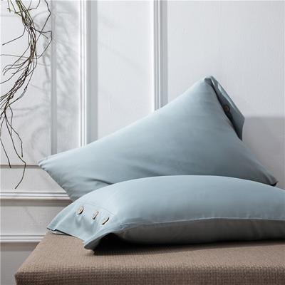 2019新品A类60S长绒棉全棉单品枕套 48cmX74cm/对 橄榄绿