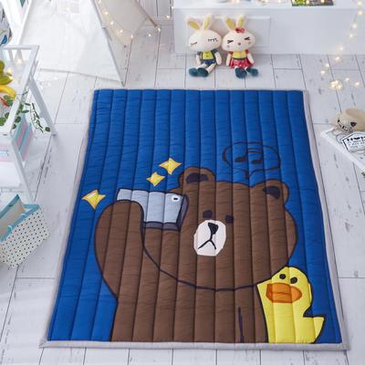 大阪数码印花地垫(第三批) 145*195cm 布朗熊