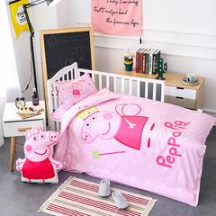 全棉活性13372大版系列幼儿园儿童套件 棉花加厚款六件套 六件套 公主佩奇