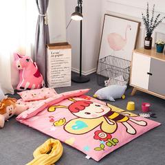全棉活性13372大版系列幼儿园儿童套件 棉花加厚款六件套 六件套 小蜜蜂