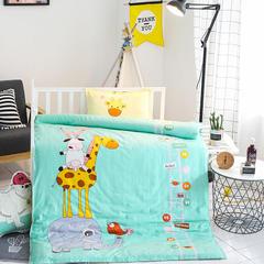 全棉活性13372大版系列幼儿园儿童套件 三件套不含芯 成长阶梯