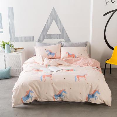 花团锦簇系列 小号(1.35m床)三件套 独角兽unicorn